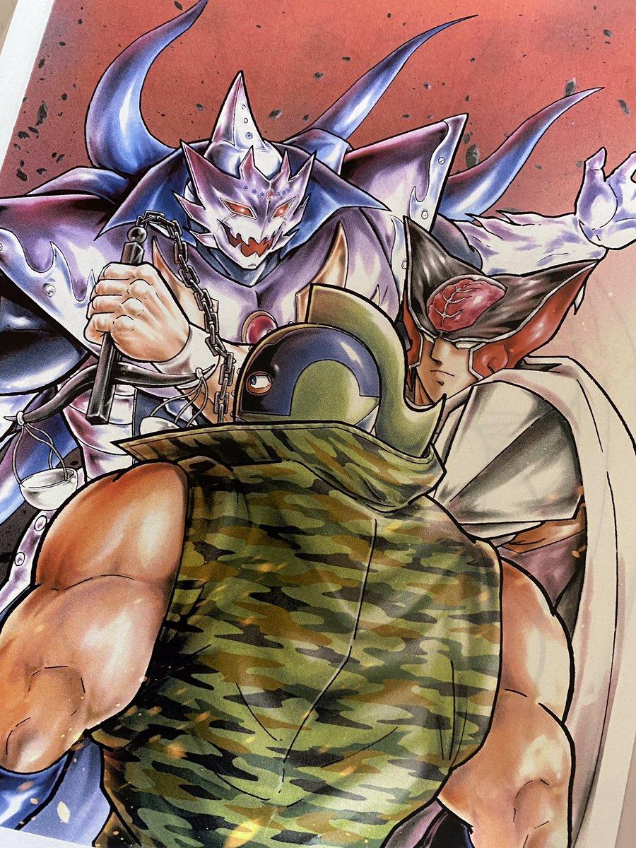 ジャンプコミックス『キン肉マン」最新第71巻のカバー表紙完成!!6月4日発売!! #キン肉マン #キン肉マンアニメ化