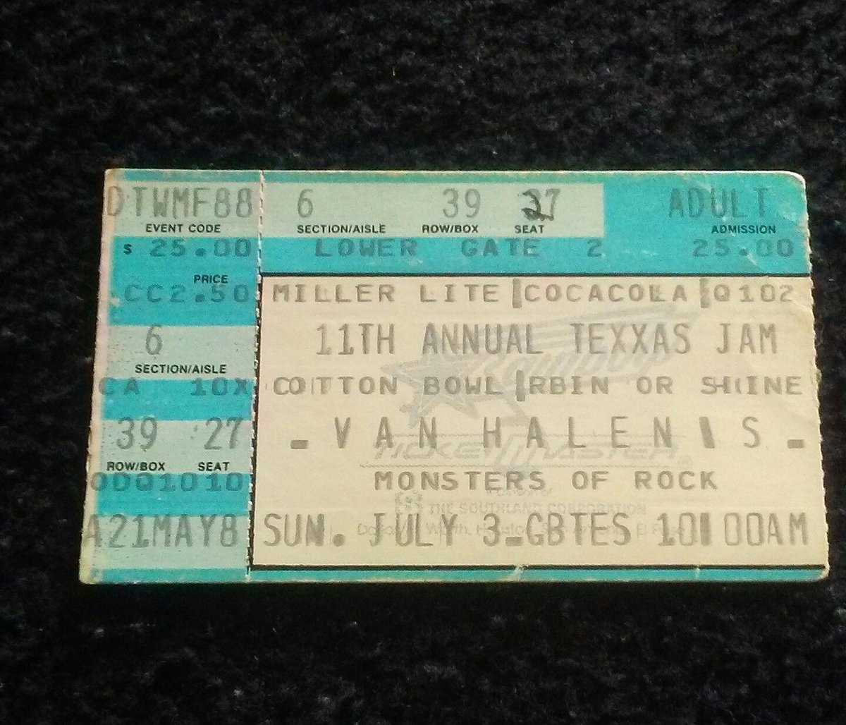 @MetalHammer @Metallica I saw that tour,last time seeing Metallica as an opening band.