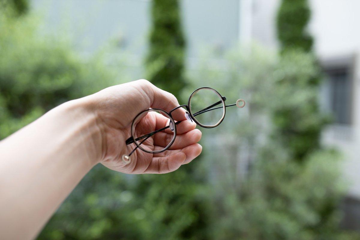 めちゃかわいいメガネ買ったから見て
