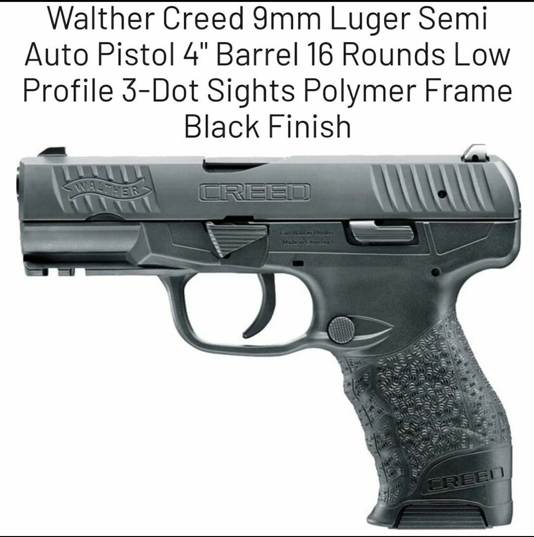 @NRA @Dannoacton As an #NRA member, #ConcealedCarry #gun owner, #TrumpSupporter and a patriot, I'll proudly make my new Creed #9mm my daily carry, as soon as it arrives. #2Amendment