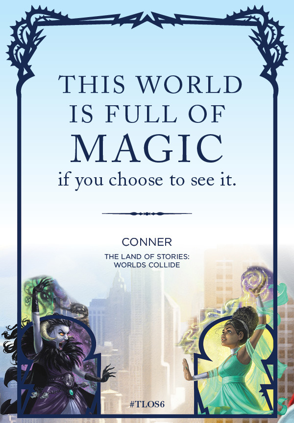 @chriscolfer Thanks for The Land of Stories series and A Tale of Magic.  Needing some magic, so I'm rereading them.pic.twitter.com/GZv9U9sQ5D