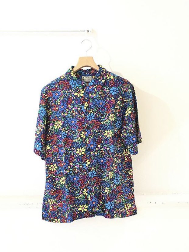 《NEWARRIVAL》  【BOHEMIANS】 別注MOSIC FLOWER RAYON S/S OPEN SHIRT ¥17,000+tax size:M,L,XL  #BOHEMIANS #ボヘミアンズ #シャツ pic.twitter.com/setKw8varT