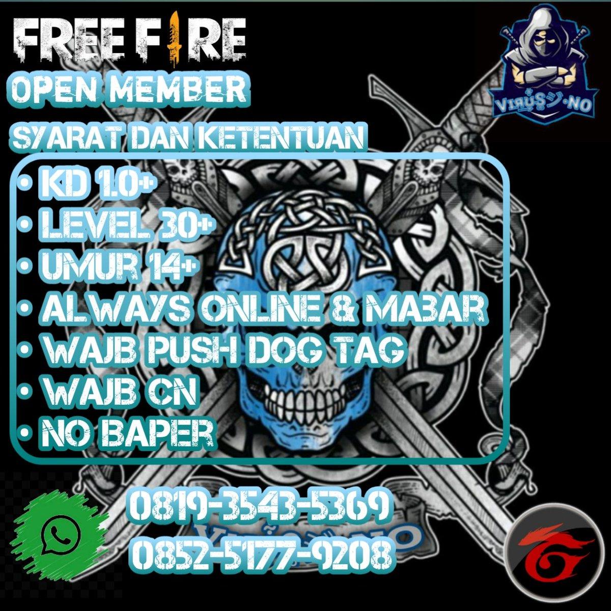 @freefireID_   Minat Gabung cppic.twitter.com/ebEshINeVp