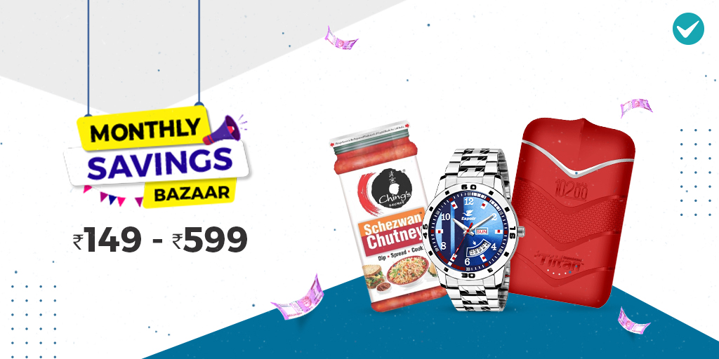 From the first day of the new month, it's Good News for you! Get the most amazing range of products, Starting at ONLY Rs.149 from the Monthly Savings Bazaar! Link: https://bit.ly/2XM1Bxs   #savings #marketpic.twitter.com/DFYuU9cBi4
