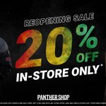 Image for the Tweet beginning: PANTHER SHOP REOPENS 😍 Head