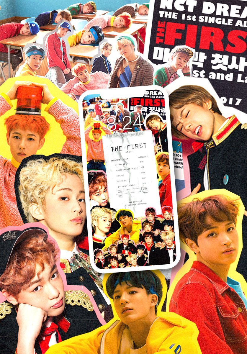 Ten S Bff Yangyang Day On Twitter Nct Dream The First As Receipt Wallpaper By Tohyucks ଘ ˊᵕˋ ଓ Rt Like If Using Saving