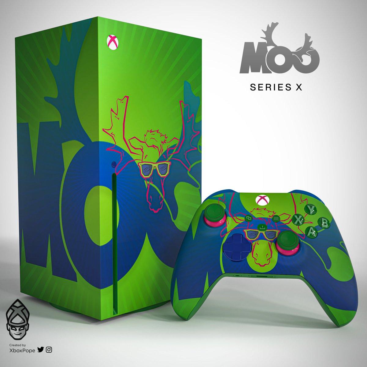 A little Xbox fan art fun for @MooSnuckel