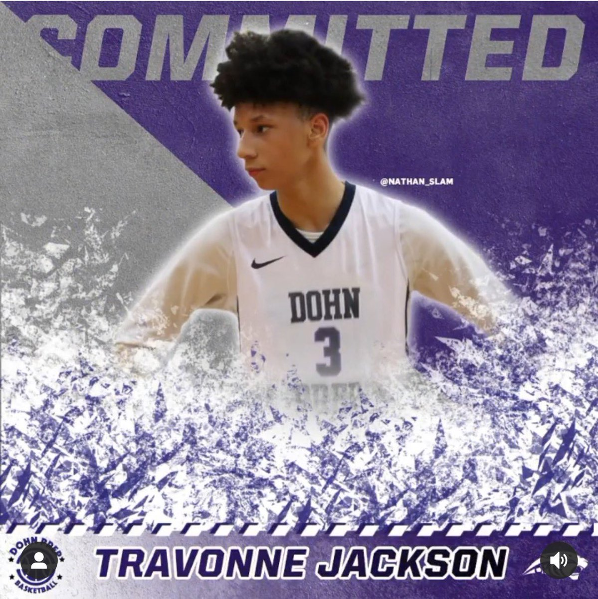 "Excited to welcome 6'6 PG, Travonne Jackson! ""Tray"" is a Big Point Guard that has a ton of upside and positional versatility. A gifted passers and can score at all three levels #classof2022 #chasingscholarships #dohnprep #commited @tray2litt #staytune @DohnPrepBball @CoachSammyV https://t.co/glXCXU6jhO"