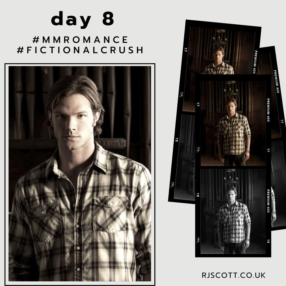 10 days, 10 fictional crushes Day 8  Sam - Supernatural (and Dean!) - I love Dean, don't get me wrong, but season 1-5 Sam is what is was all about for me.   #FamilyBusiness #SavingPeople #HuntingThings  #MMRomance #FictionalCrush https://t.co/JkeSbXERnR