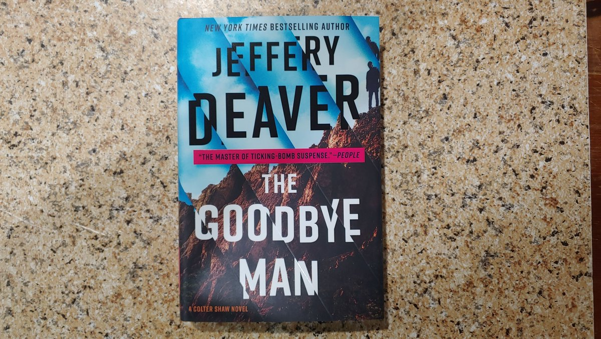 It's a new book by Jeffery Deaver! In pursuit of two young men accused of terrible hate crimes, Colter Shaw stumbles upon a clue to another mystery. @JefferyDeaver #WhatToRead #NewBook #Mystery https://t.co/wBGyBQj6qU