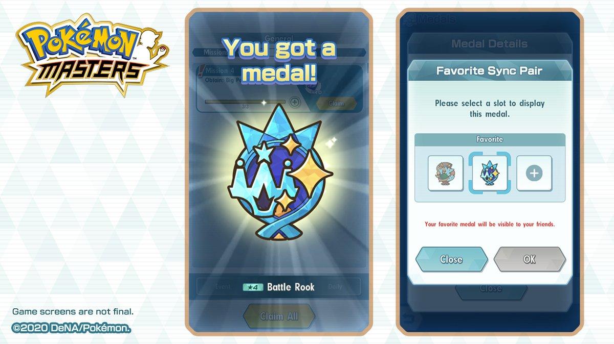 Emblemas Pokémon Masters