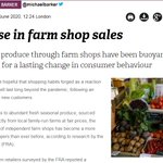 Image for the Tweet beginning: Farm shops across the UK