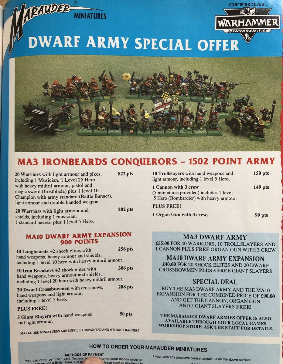 £55!!  Oh I wish I had a certain special Delorian... 😮🤓 #oldhammer #WarhammerCommunity #warhammer #Warmongers https://t.co/BGvcbPUoim