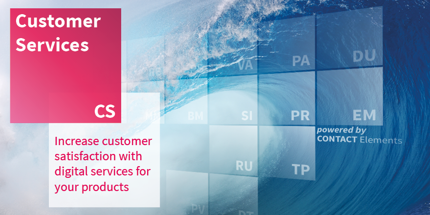 Increase your service performance through digital processes and attractive pay-per-use offers - with the new building block Customer Services of CONTACT Elements for #IoT! Learn more: https://t.co/SCnrPorSom https://t.co/PrYuJlYVph