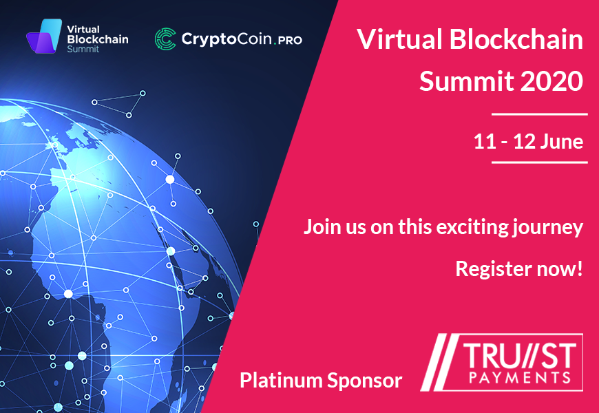 Trust Payments is pleased to collaborate with https://t.co/kIDYKCWVW1 to invite you for the Virtual Blockchain Summit 2020. When: 11-12 June 2020 Register here: https://t.co/CDYUnO8bBe https://t.co/WxuxgtueKz