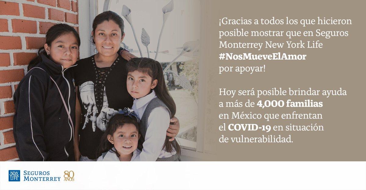 Gracias a la aportación de Colaboradores y Asesores a la Fundación New York Life, se recaudaron más de $9 millones de pesos que se donaron a @SaveChildrenMx para beneficiar a familias que enfrentan #COVID19 en situaciones de vulnerabilidad.  Conoce más: https://t.co/jhzM65Wo4y https://t.co/NXJ2n1cCD2