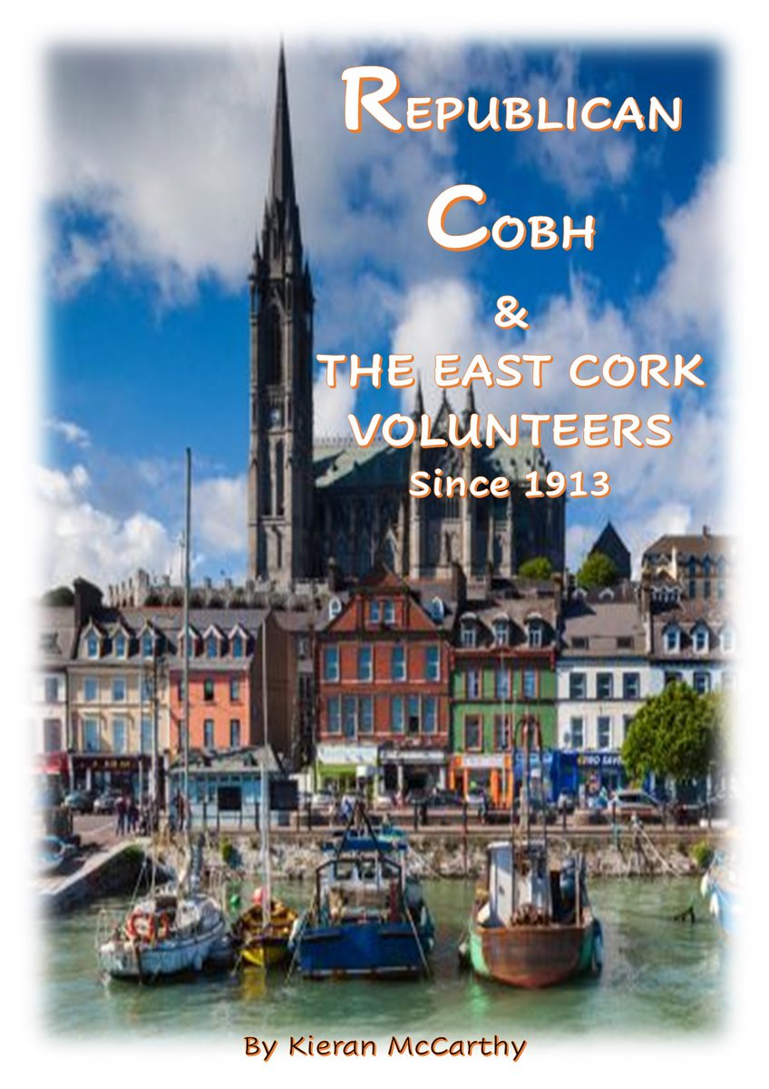 Cobh Rebel Walking Tours are now ready to welcome visitors from anywhere in County Cork.  We will also be launching the eBook of Republican Cobh and the East Cork Volunteers in the next few weeks.  Cobh, the small town with the big heart that has so much to offer. https://t.co/R9Zk2n85VX
