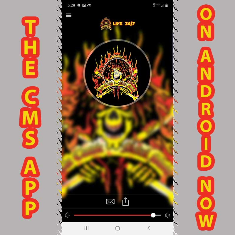 Where are all you Android folks at? The time is now to be connected to the CMS 24/7 with our app! Live, podcast, chat and more all in one app! Get it today! https://t.co/8QQ8D4oZ2M #shockjocks #theclassicmetalshow #neeley #chrisakin #chatandkill #notPC #comedy #greatradio #fun https://t.co/UZPSmZoLah