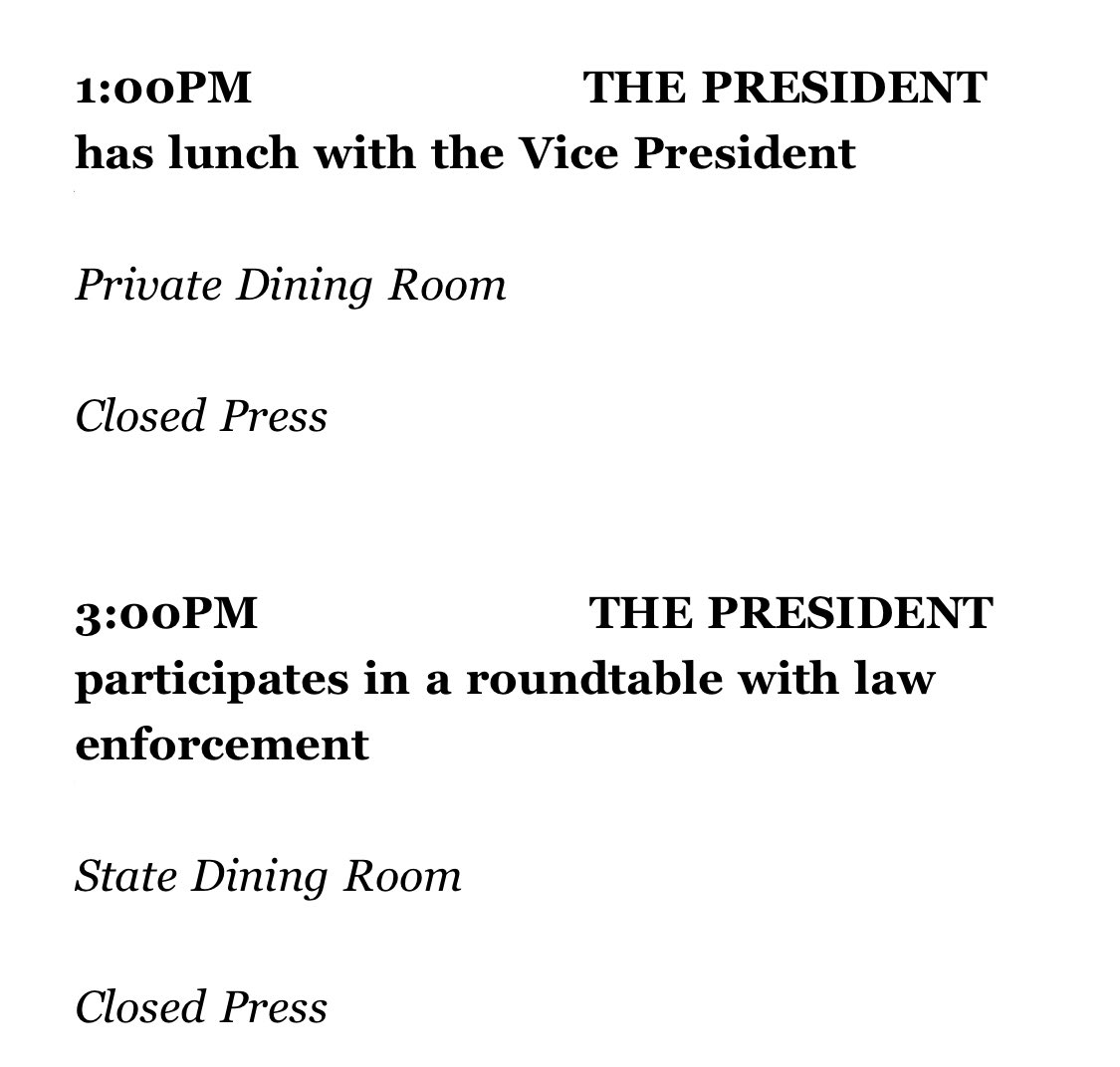 @realDonaldTrump Will you be skipping your daily briefing and continuing todays #TrumpMeltdown right up until your roundtable with law enforcement today?