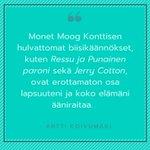 Image for the Tweet beginning: Haluatko sinäkin kehua kääntäjää? 🤩