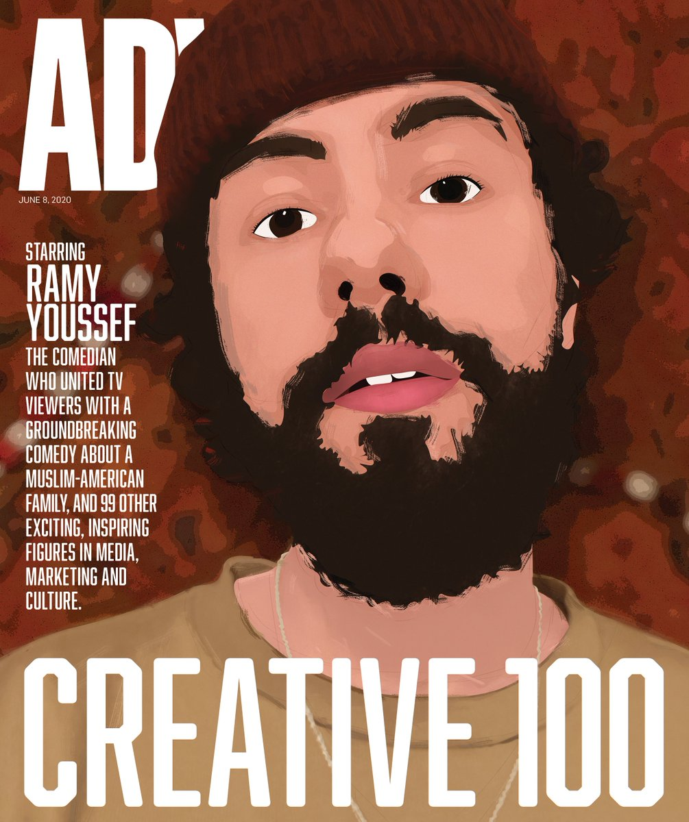 The latest issue of Adweek honors our #Creative100: 100 innovative minds leading creativity in marketing, advertising and media.   On the cover we highlight @ramy and talk to him about creating one of TV's best shows and subverting expectations.  Explore: https://t.co/V9QSwdki64 https://t.co/wV2xciPVBq