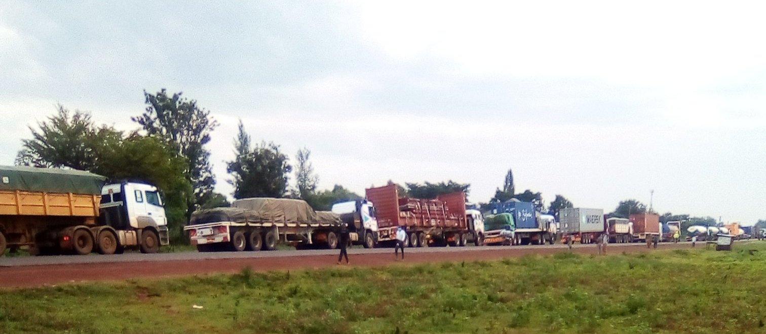 Busia- Kisumu highway near Matayos