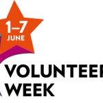 Image for the Tweet beginning: It's #VolunteersWeek, and we'd like