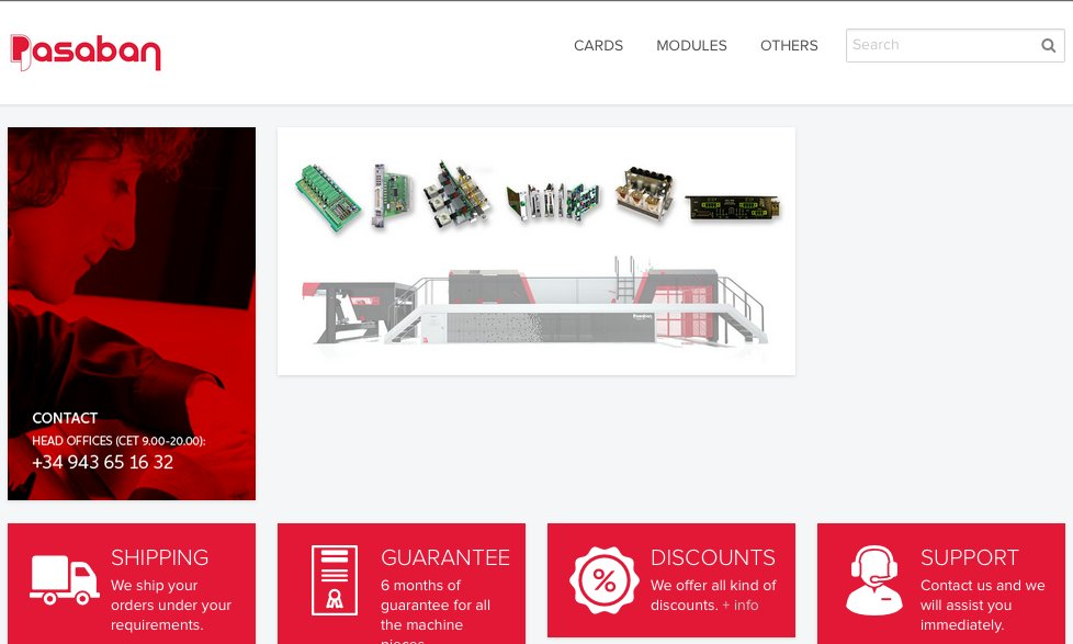 ONLINE SPARE PARTS STORE. Cards and modules with 6 months guarantee and 10% discount on the first purchase. http://bit.ly/PartsStore  #PasabanMachines #PaperIndustry #PulpandPaper #PulpandPaperIndustrypic.twitter.com/pHE82fix1e