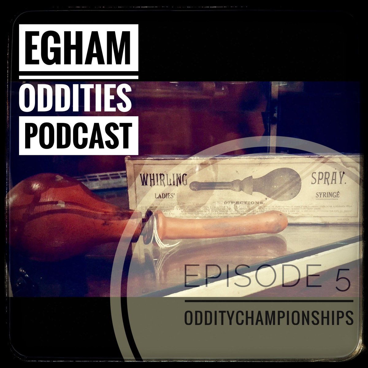 We released Episode 5 of Egham Oddities yesterday evening and it's all about our #NationalOddityChampiinships2020 with @OldOpTheatre   Listen, subscribe, rate and review please https://pod.link/1491610134  #podernfamily #podcasts #podcasting  #PodcastRecommendationspic.twitter.com/jfNDa6hFaY