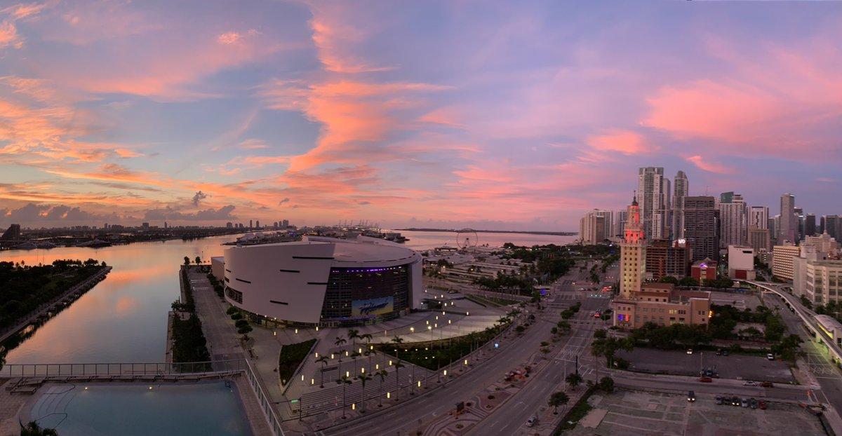 Good morning, #Miami! Let's make today better than yesterday! pic.twitter.com/XQyZYTJ4G1
