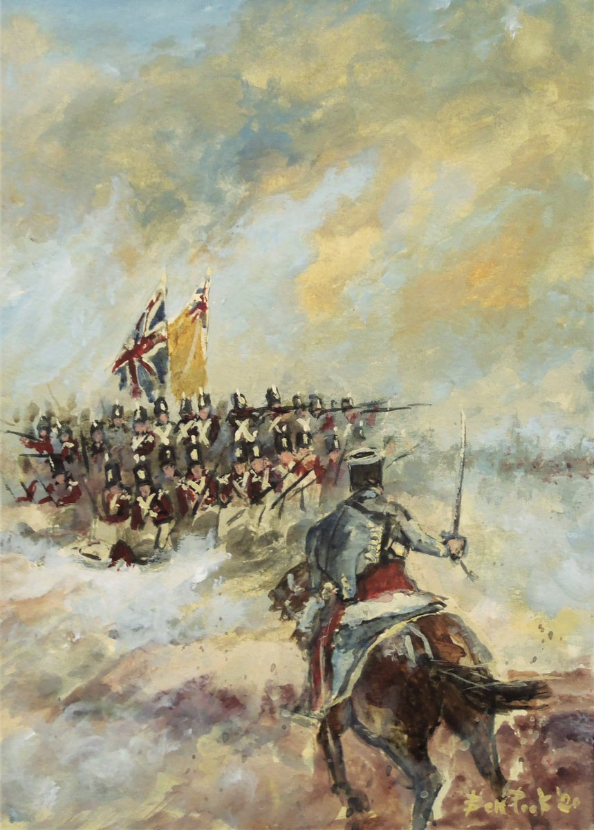 I've got some NEW LARGER A4 hand-signed prints available. High quality giclée prints on German Etching paper. UK £45, Outside UK £55 each (Price includes tracked and signed shipping) Payment through PayPal. Prints are unframed. DM to order. #painting #napoleonic #traditionalartpic.twitter.com/3tMfhTSFsl