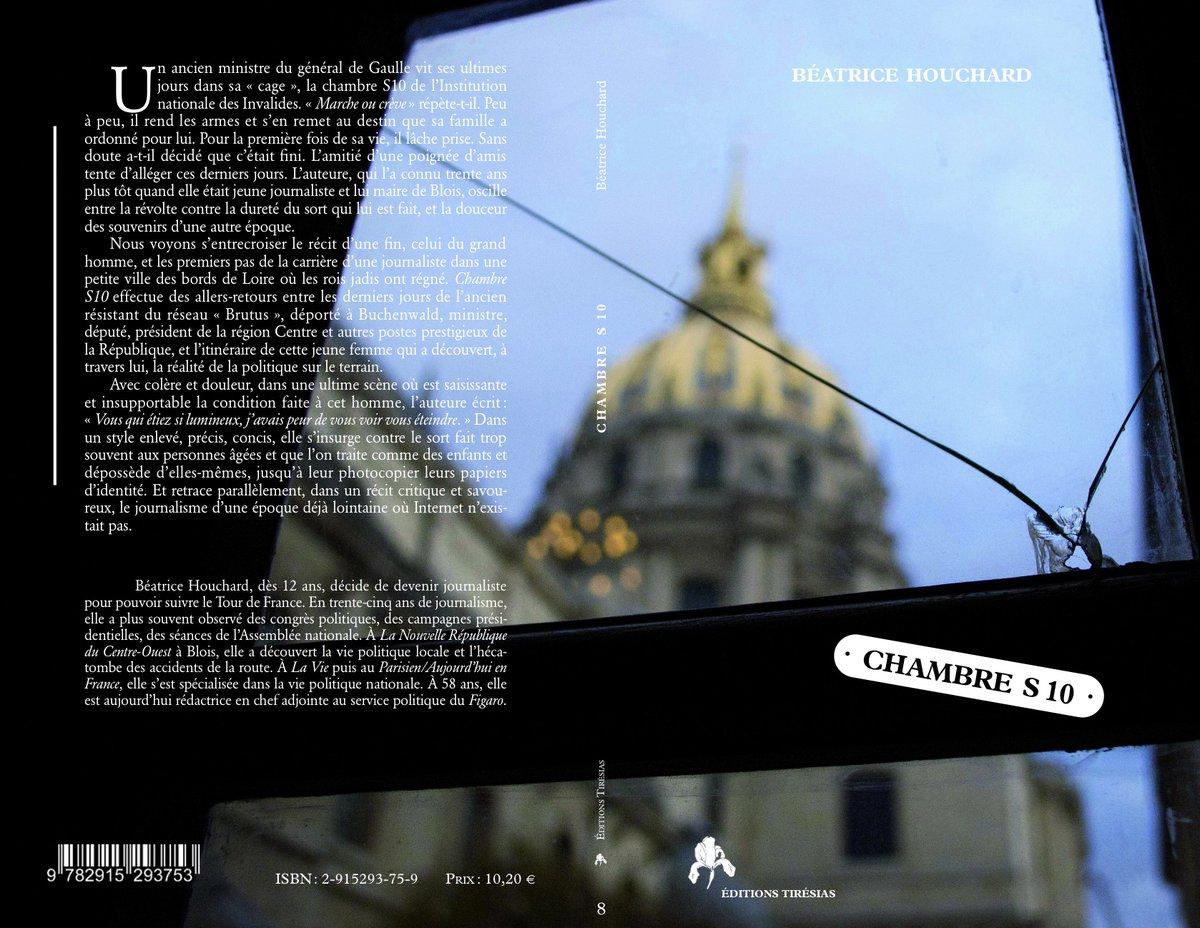 Petite maison d'édition dirigée par le très cultivé et original Michel Reynaud, qui m'a permis en 2013 de publier Chambre S 10, un livre consacré à l'ancien ministre et maire de Blois Pierre Sudreau. pic.twitter.com/DUnociliYh