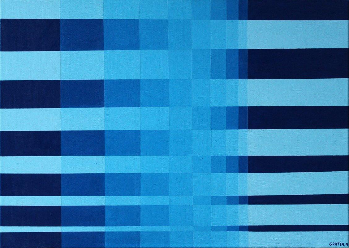 Nuance  Peinture Acrylique 50 x 70 cm #artcontemporain #art #blue #acrylicpainting #nuance #abstractart #Abstract @LefrancOfficiel @pinceauxleonardpic.twitter.com/RAB95us8ea