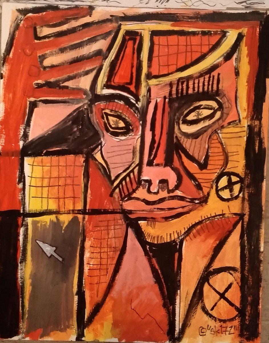 #outsiderart #artbrut #contemporaryart #neotists #StreetArt #neoexpressionism #acrylicpainting #portrait #Abstract #paper #MentalHealthMatters #mentalhealth #primitive #COVID19pic.twitter.com/eNagnvGZlM