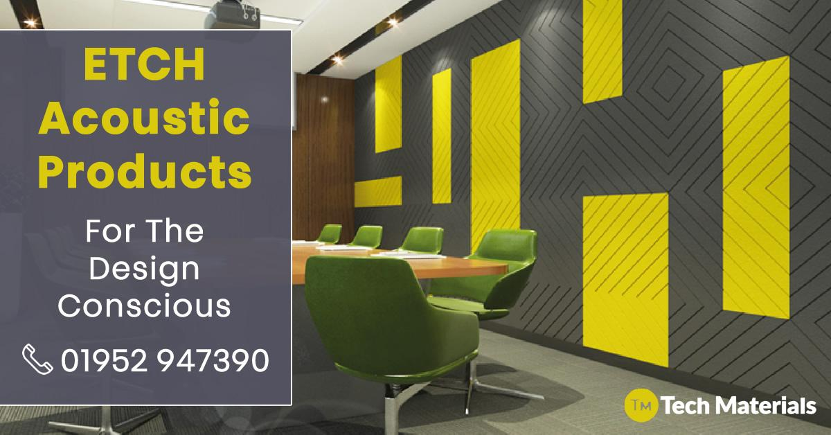 Alpha Etch acoustic panels are a polyester acoustic wall covering combining design, colour and texture. Interested? Read more about our Etch acoustic panels via our website  View Our Product Range http://www.techmaterials.co.uk @Tech_materials #Acousticspic.twitter.com/gHOtDaHa0o