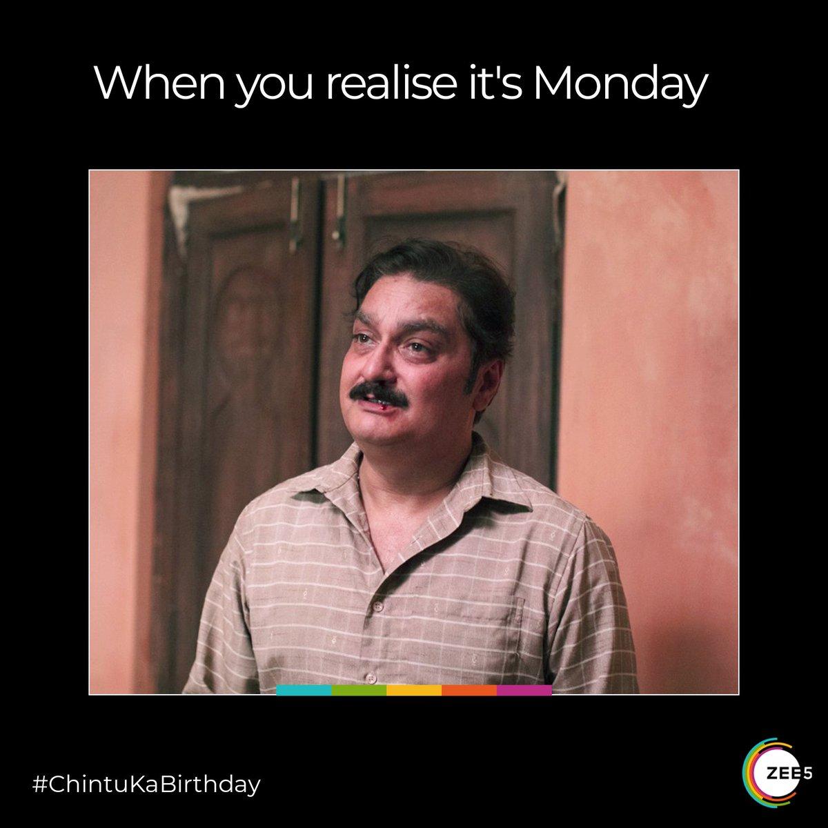 Chintu ke papa is here to drive away your Monday blues.  Hit Like if you are as excited as him to celebrate  #ChintuKaBirthday on 5th June.  @FirstDraft_Ent @mojorojo @KDevanshuSingh @satysingh @thetanmay @stupidusmaximus @pathakvinay @TillotamaShome @ReginaldLBarnes @NateScholz https://t.co/0puEKsSjSJ