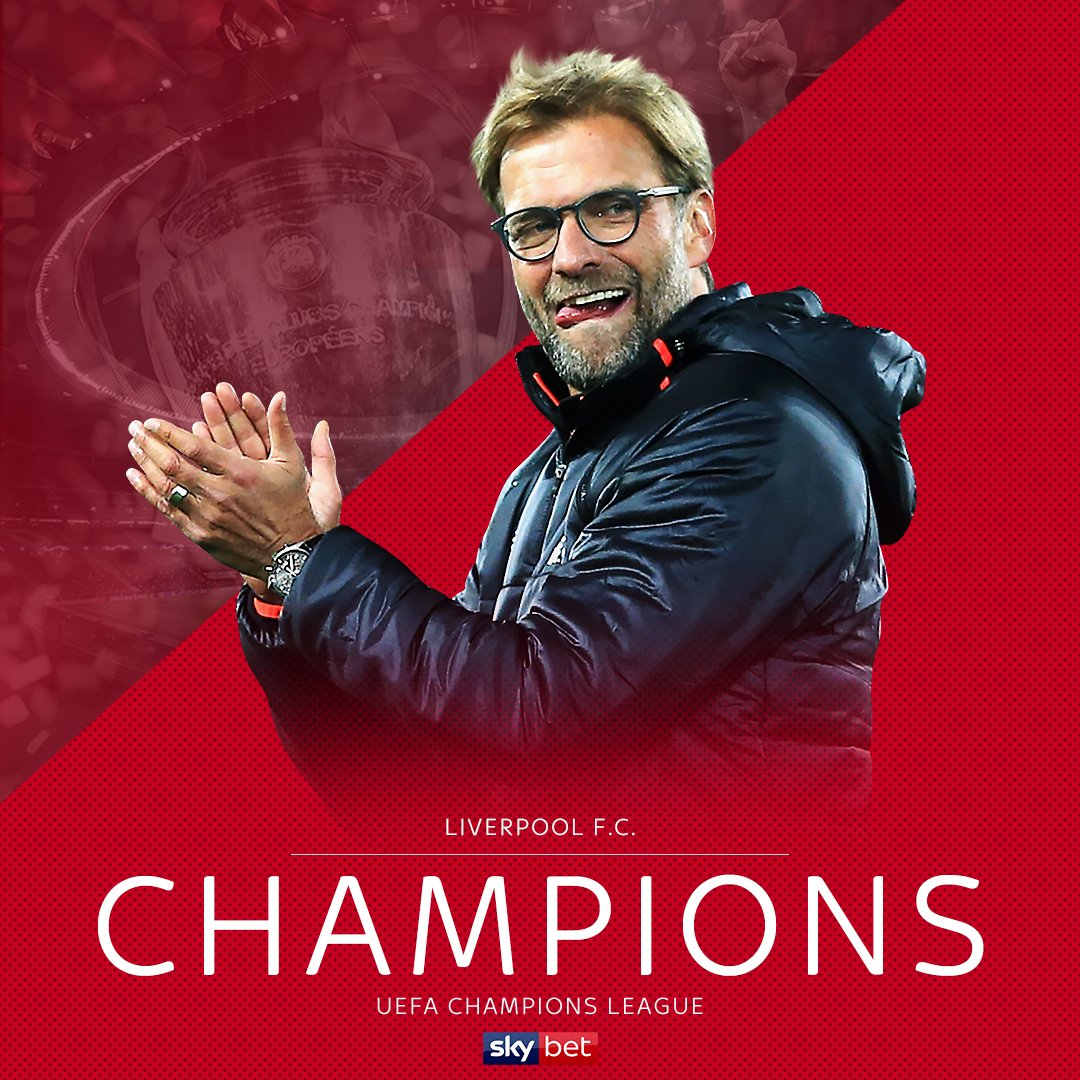 One year ago today 📅 Liverpool won the #ChampionsLeague for the sixth time 🔴👏 🏆 1977 🏆 1978 🏆 1981 🏆 1984 🏆 2005 🏆 2019 #LFC #UCL