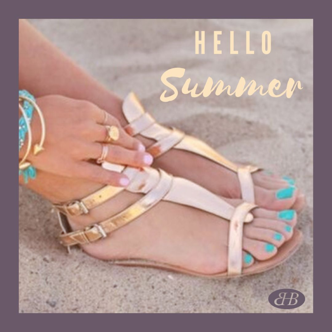 It's #FirstOfJune & according to the #RoyalMeteorologicalSociety it's the #FirstDayOfSummer - we can't wait to see you & pamper your #hands and #feet ... missing you all. #StaySafe . #EssentialsHairBeauty #StNeots #Cambridgeshire #Beauty #Hair #Summer #ShellacNails #Pedi #Mani