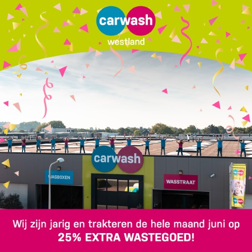 ADV; Carwash Westland viert haar 9e verjaardag! https://t.co/RLkolbyX3A https://t.co/xydKJCqIX9