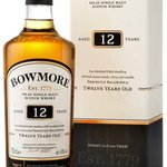 Image for the Tweet beginning: Bowmore 12 Year Old Malt