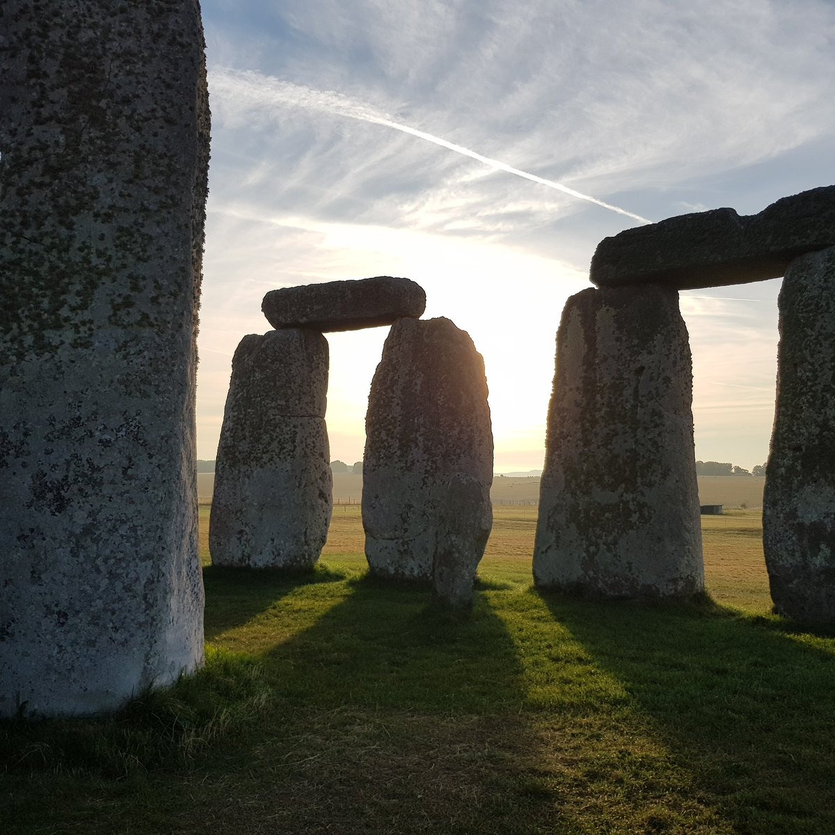 Sunrise at Stonehenge today (1st June) was at 04.55am, sunset is at 09.13pm