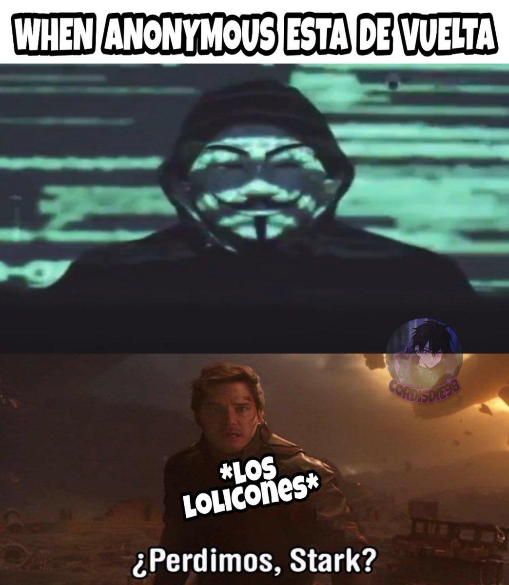 Todo se perdió alv 😂 . . . #Anonymous #anonymus #loli #otakus #anime #lolicon #Memes #AnimeMemes