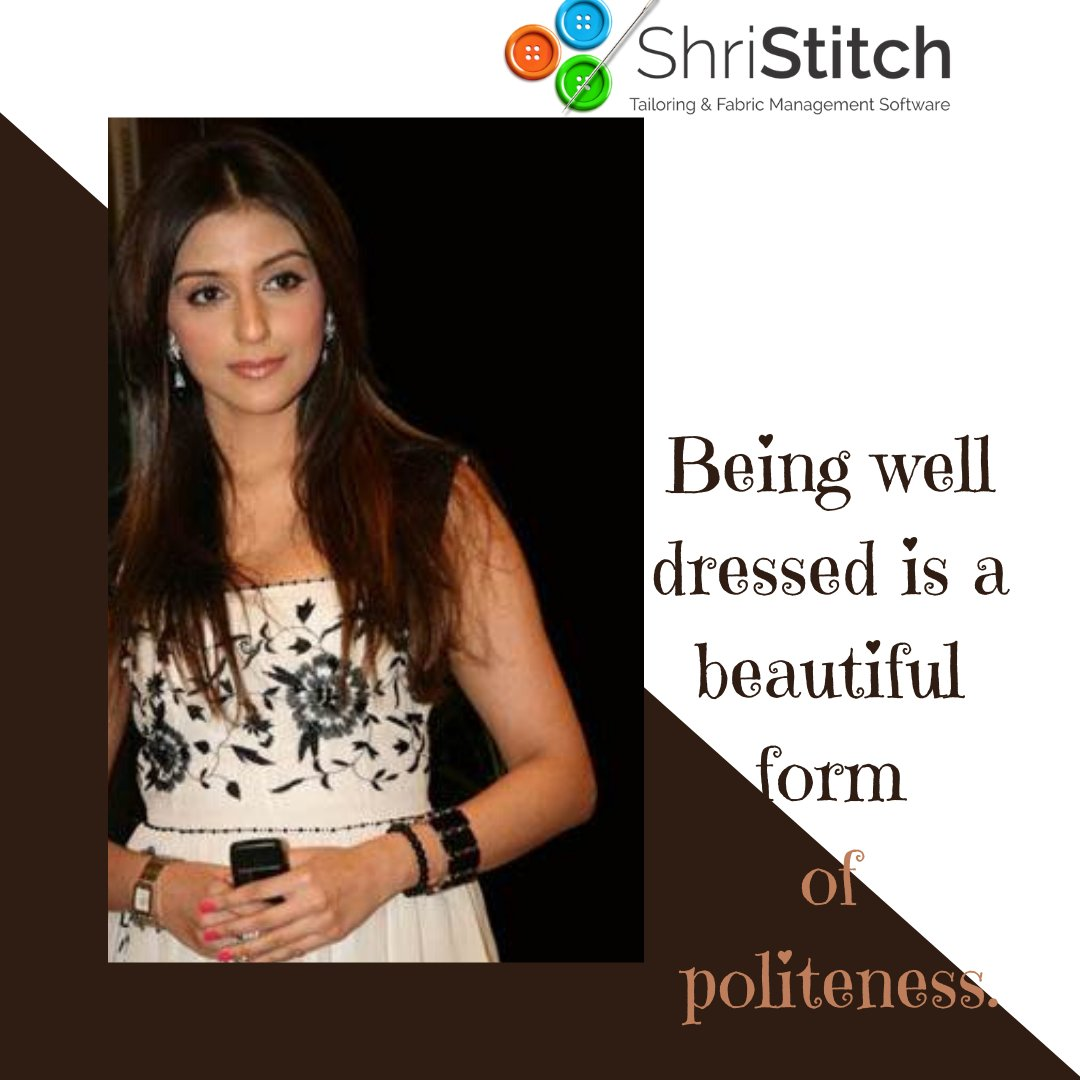 #Shristitch #software #trend #fashiondesigner #fashionshow #lifestyle #quotes  #fashionstudio #fashionvibes #instaquote #instadaily #instavibes #shristitchsoftware #clothingboutique