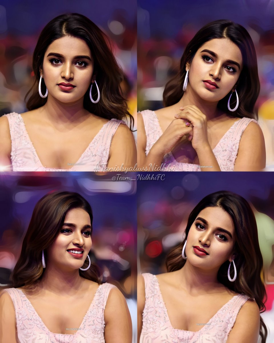The most prettiest face I've ever seen  we'll be always there to support you queennn ....  #NidhhiAgerwal @AgerwalNidhhipic.twitter.com/XztKZ3siCY