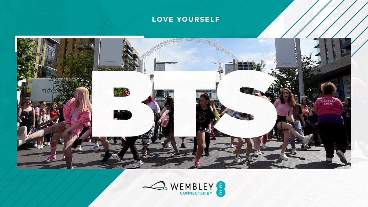 Seven idols. One iconic stadium. One year ago today, @BTS_twt made history at Wembley as they performed 2 sold out shows under the arch🏟️ An incredible weekend. Take us back. 🙏 #OTD | #BTSxWembley