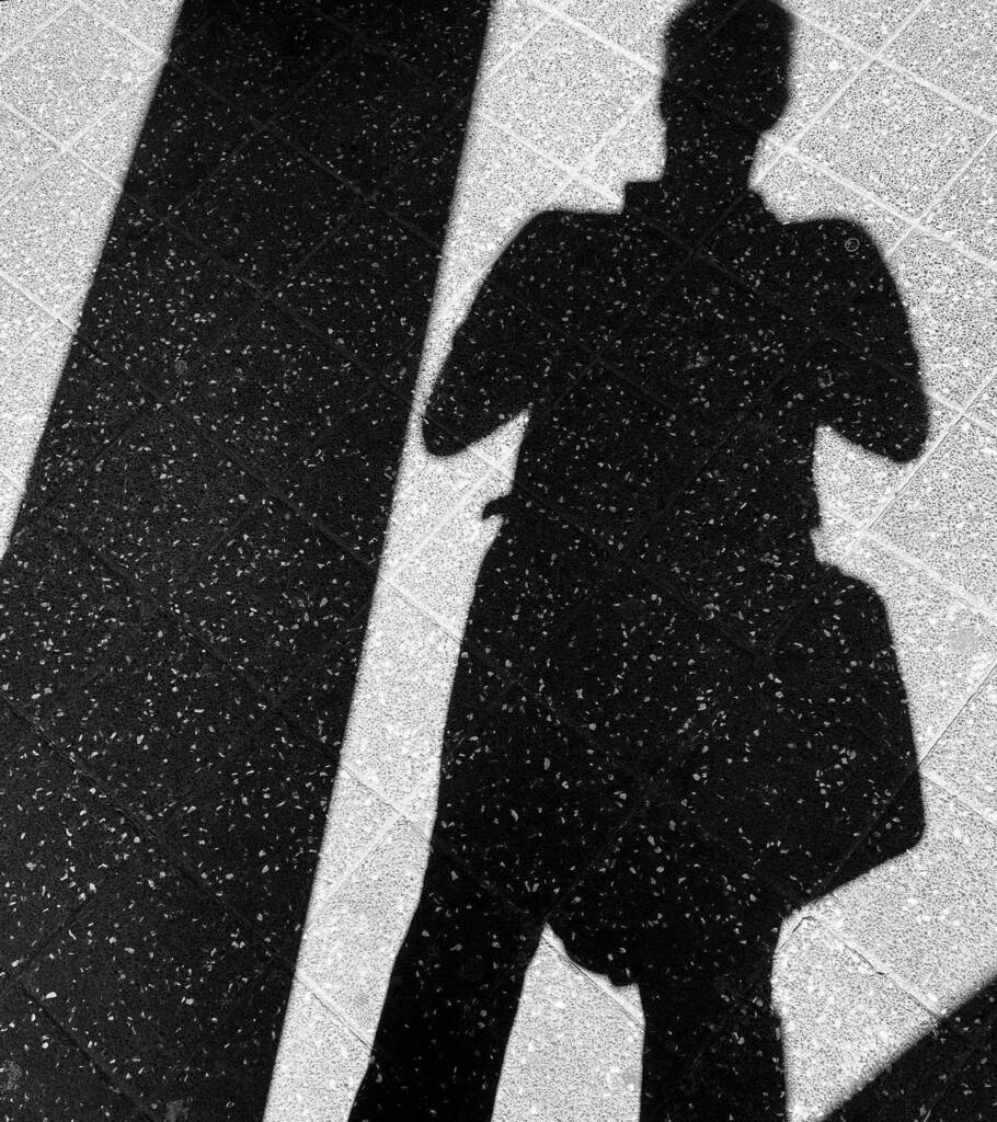 On the road #blacknwhite #blacknwhite_perfection #bnw #blackandwhite #blackandwhitephotography #bnw_captures #monochrome #monochromatic #shadow #grit #sun