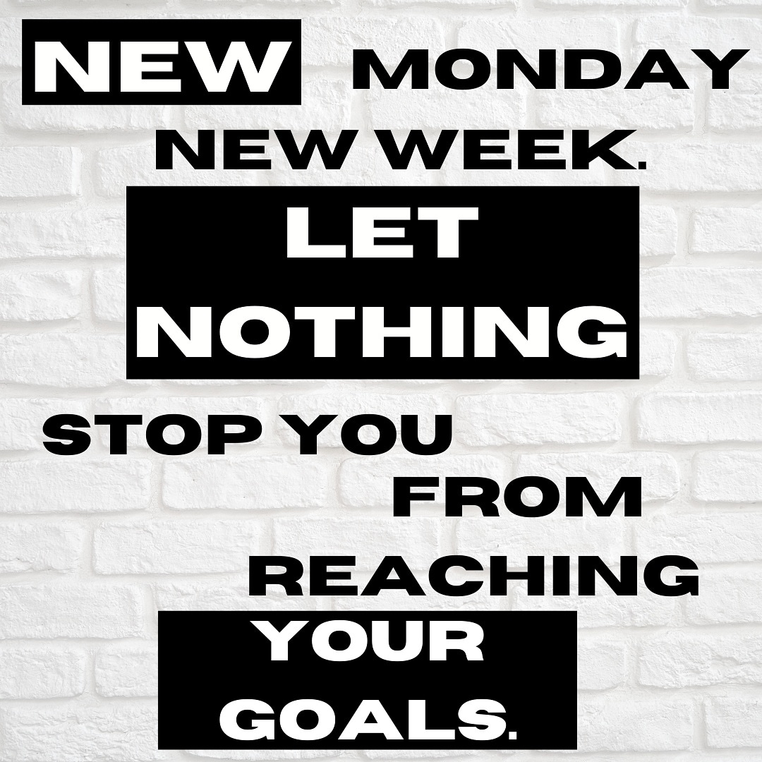 New week, let's do this  #fitness #fitnessblog #personaltrainer pic.twitter.com/YcTxcPhgPQ
