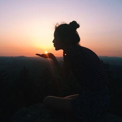 #sun is alone but still shines