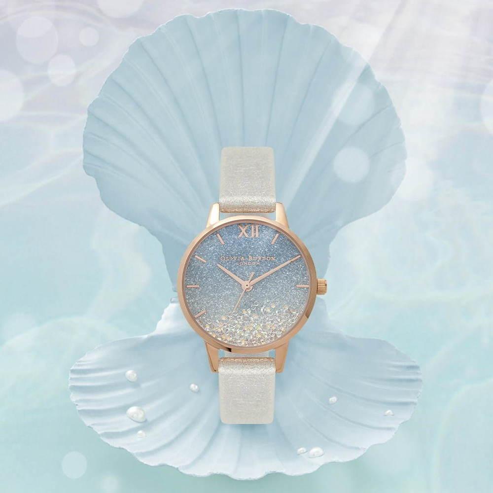 """オリビア・バートン新作腕時計、""""海の中""""を表現したグリッター×グラデーションの文字盤など -"""