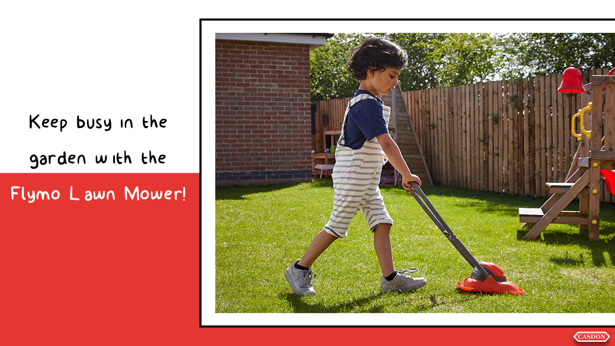 Keep busy in the garden during lockdown with the Flymo Lawn Mower! It looks and feels just like the real thing #CasdonToys #Flymo #Children #Toys #Kids #Preschool #StayAtHome #PlayAtHome #Casdon #Mummy #Mum #Baby #MumLife #Love #Motherhood #Family #Cute #Happy #Like #Parentingpic.twitter.com/PXNoZgrbzb